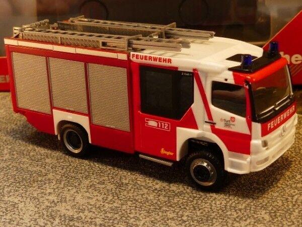 1 87 Herpa MB Atego Ziegler Z-Cab pompiers Erfurt 093798
