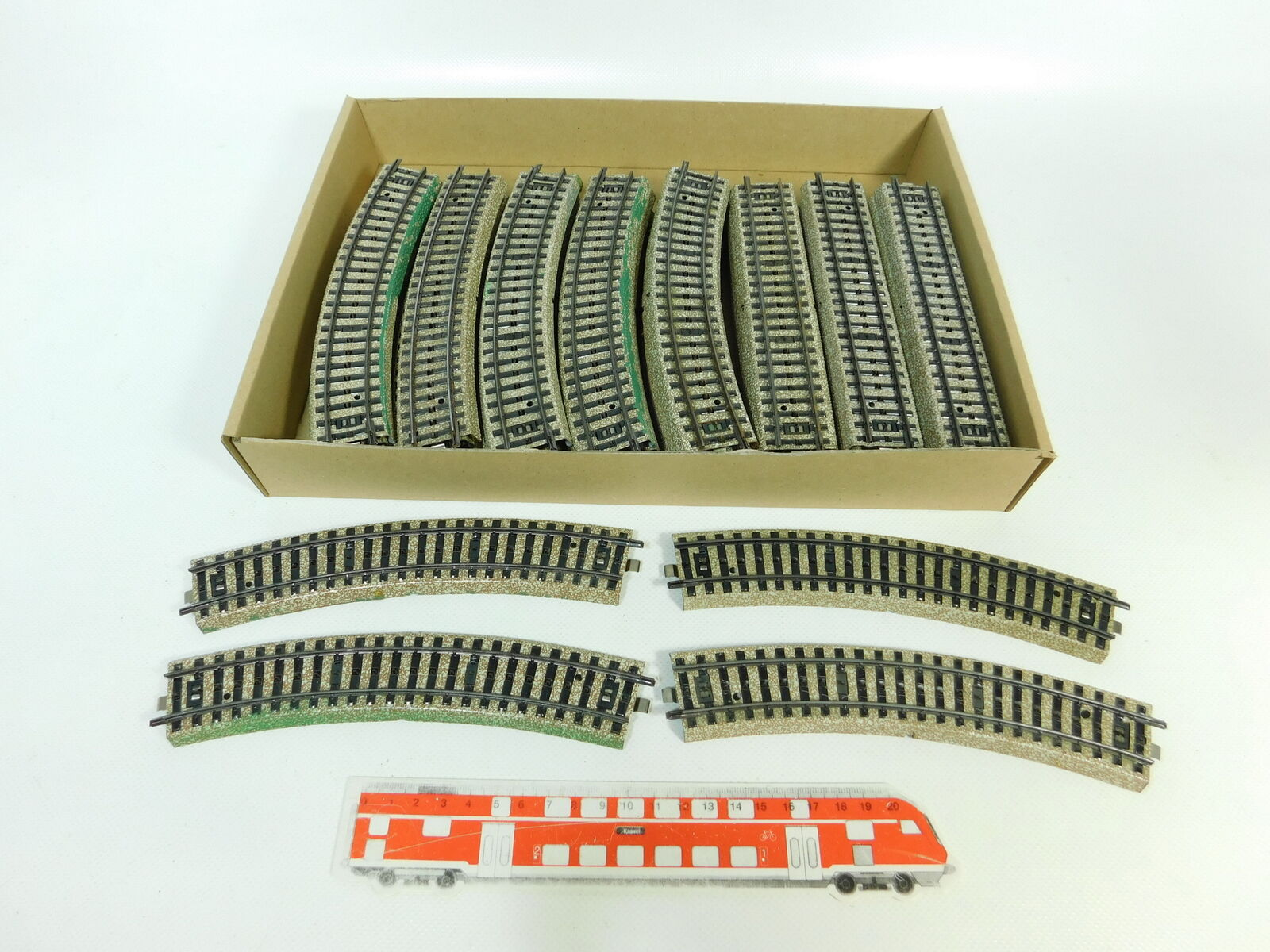 BP848-2 x Märklin H0   Ac Piezas de vía Carril 5100 5106M Pista