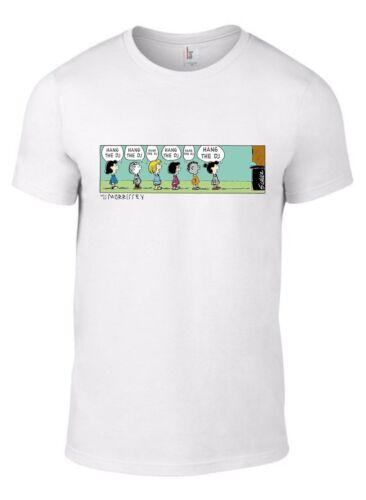CHILD SIZES THE SMITHS HANG DJ Lyrics T-Shirt Peanuts Charlie Brown Morrissey