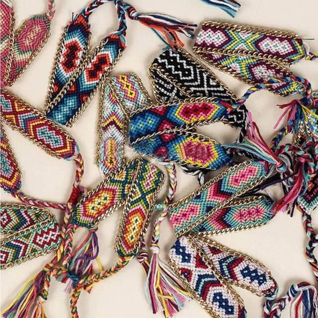Fashion Women Jewelry Ethnic Style Weave Charm Friendship Bracelet Gift sale