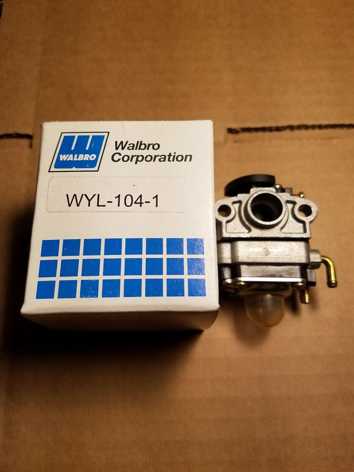 WALBRO WYL-104-1 Cocheburador para ROBIN BRUSHCUTTER con Herramienta gratuita Walbro W