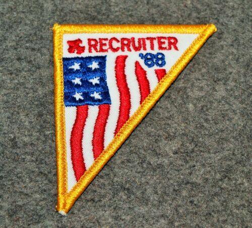 BSA POCKET PATCH…1988 RECRUITER