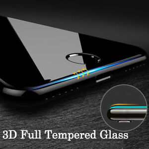For-Apple-iPhone-X-6s-7-8-Plus-3D-Full-Cover-Tempered-Glass-Screen-Protector