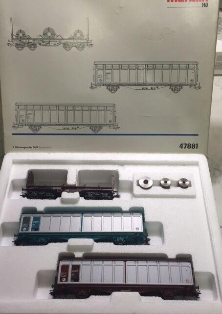 Set Marklin HO #47881 Set 3 Vagones SNCF NUEVO/NEW
