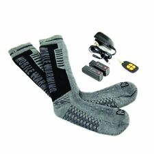 Mobile Warming Standard Heated Socks Gun/Black Men Sizes 10-14