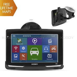 XGODY-505-5-034-Auto-GPS-Navi-Navigationsgeraet-Kapazitiven-Bildschirm-8GB-3D-Karten