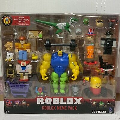 Meme Pack Playset Pack NEW Roblox Action Collection