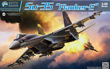 Kitty Hawk Models 1:48 Sukhoi Su-35 Flanker-E