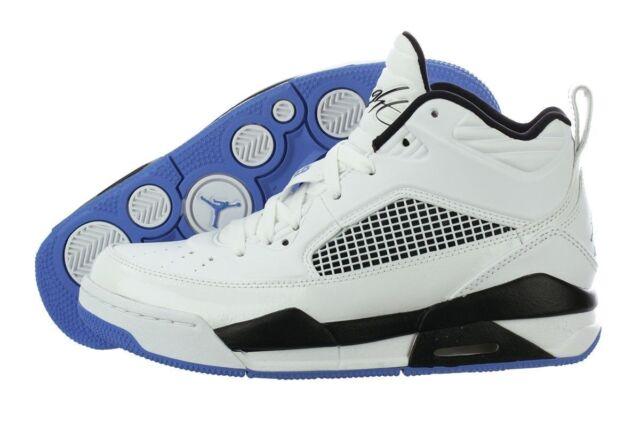 release date 9c3b1 6621f 654975-127 Nike Air Jordan Flight 9.5 (GS) White/Legend Blue-Black Sz 4-7  NIB