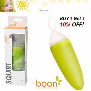 Boon Squirt Spoon Squeeze Feeding Baby Food Weaning Dispensing Multifunctional