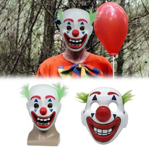 2019 Joker Mask Arthur Fleck Cosplay DC Movie Clown Halloween Masks