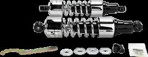 "Progressive Chrome Heavy Duty 13.5/"" Rear Shocks 88-00 Honda GL1500 Gold Wing"