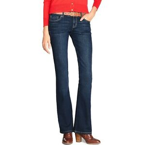 20527bf9 Image is loading Tommy-Hilfiger-Modern-Bootcut-Jeans-Womens-Size-0R-