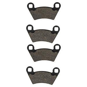 NICHE Front /& Rear Semi-Metallic Brake Pads Set for Polaris Sportsman XP 850 2009