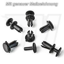 20x Kunststoff Spreiznieten Stoßstangen Befestigung Clips für VW | N90536901