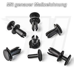 5x-Kunststoff-Spreiznieten-Stosstangen-Befestigung-Clips-fur-VW-N90536901