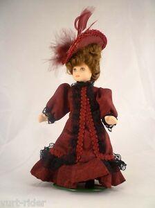 Amical Bambola Di Porcellana - Dolls House Casa Bambola #r - Nuovo éLéGant En Odeur