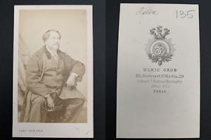 Grob-Paris-Felix-acteur-Vintage-carte-de-visite-CDV-Felix-Cellerier-dit