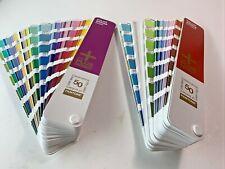Pantone Color Bridge Plus Series Coated Amp Uncoated Set 50 Years Edition