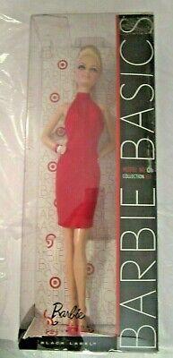 Barbie Basics Model Muse Doll No 06 Collection 1.5 Tier Ruffle Black Dress Rare