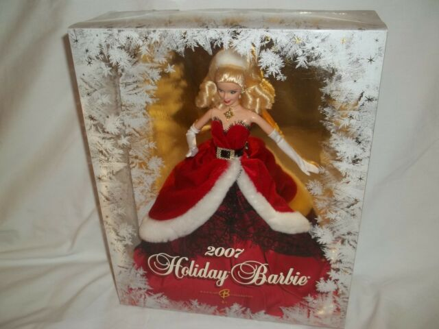 New 2007 Holiday Christmas Barbie Collector Edition # K7958