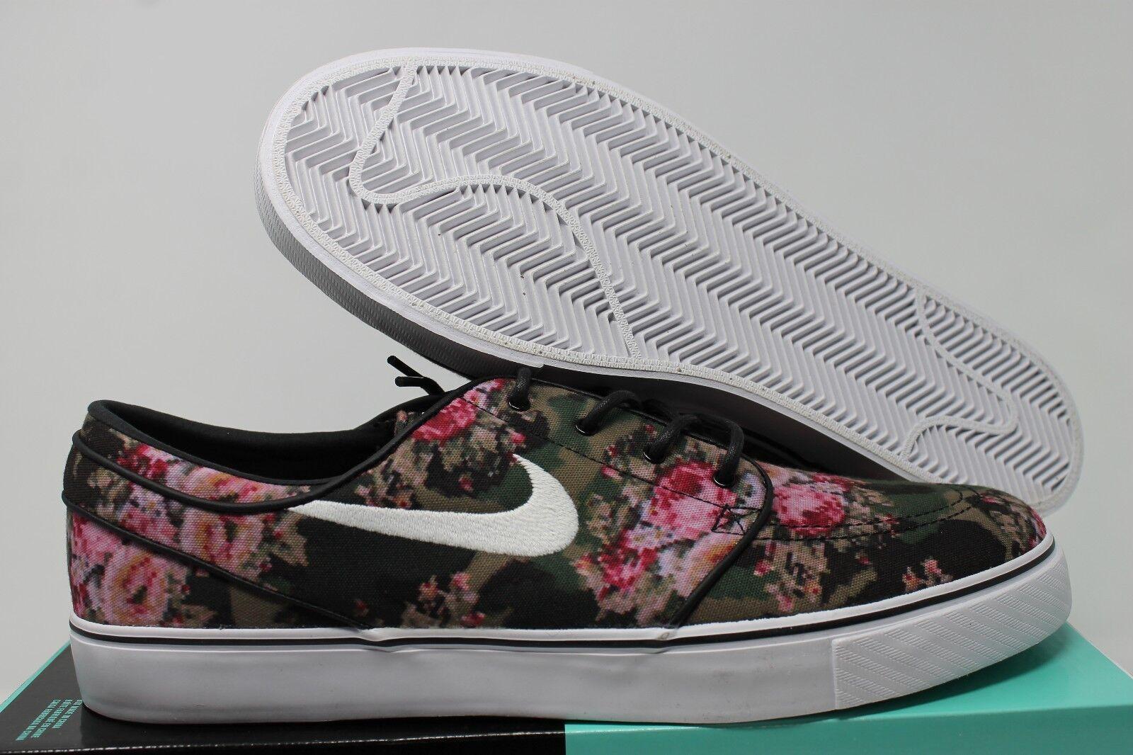 Nike SB Zoom Stefan Janoski Premium Floral Digi Camo 482972-900 Size ... 9f3da62e707f
