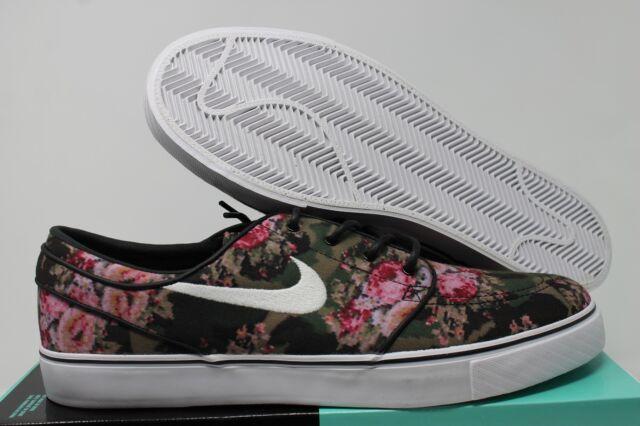 e0110b785373 Nike SB Zoom Stefan Janoski Premium Floral Digi Camo 482972-900 Size ...
