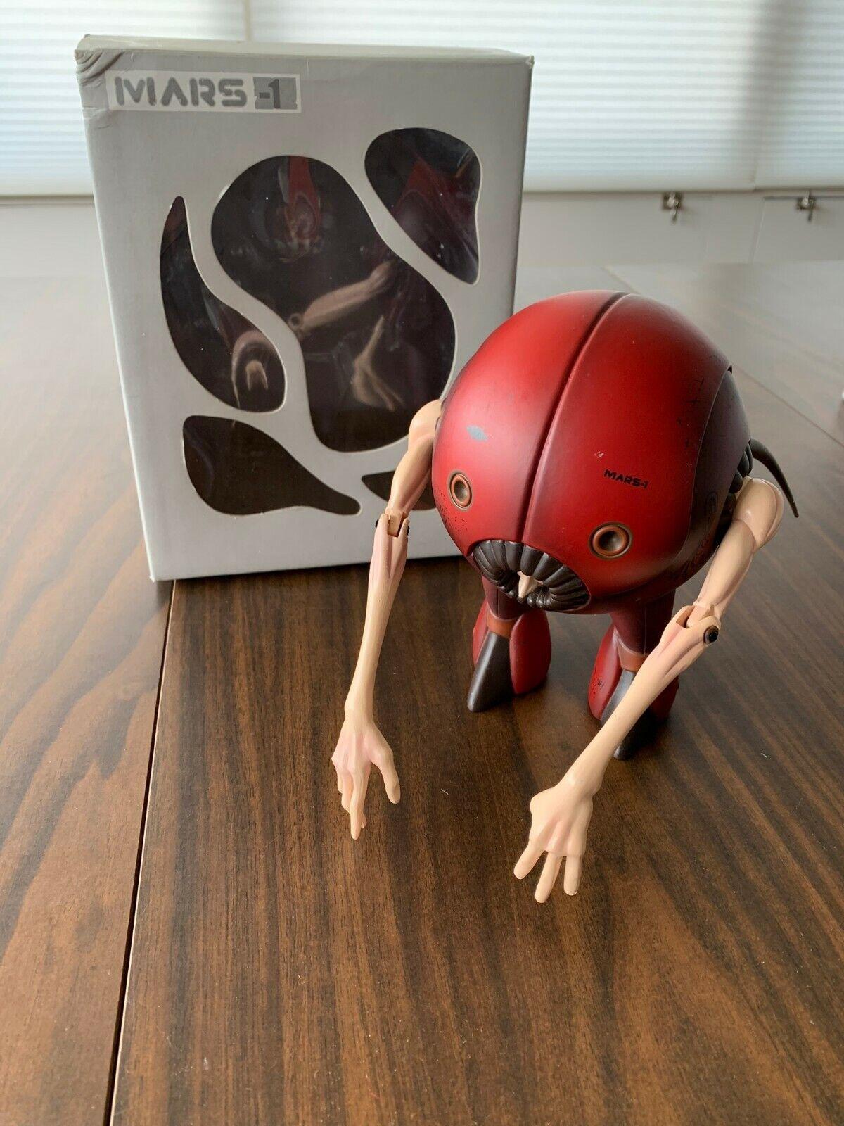 MARS - 1 Recon Rojo DESIGNER Vinilo Robot Alien STRANGECO