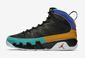9ce70c5710adf6 Nike Air Jordan Retro IX 9 Dream It Do It Black Red Blue Yellow ...