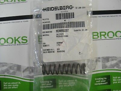 Business & Industrial Painstaking Heidelberg Pressure Spring Part #za3.279370 Terrific Value