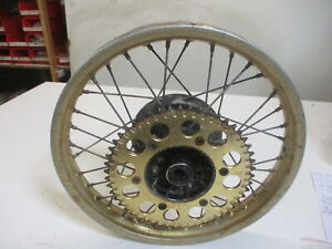 1. Honda Cr 125 R Each 01 Bj.86 JH2 Rim Rear 1,85X18 Inch Rear Wheel Rear