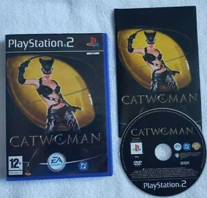 Playstation 2 Spiel-Catwoman (sehr guter Zustand) ps2 UK Pal