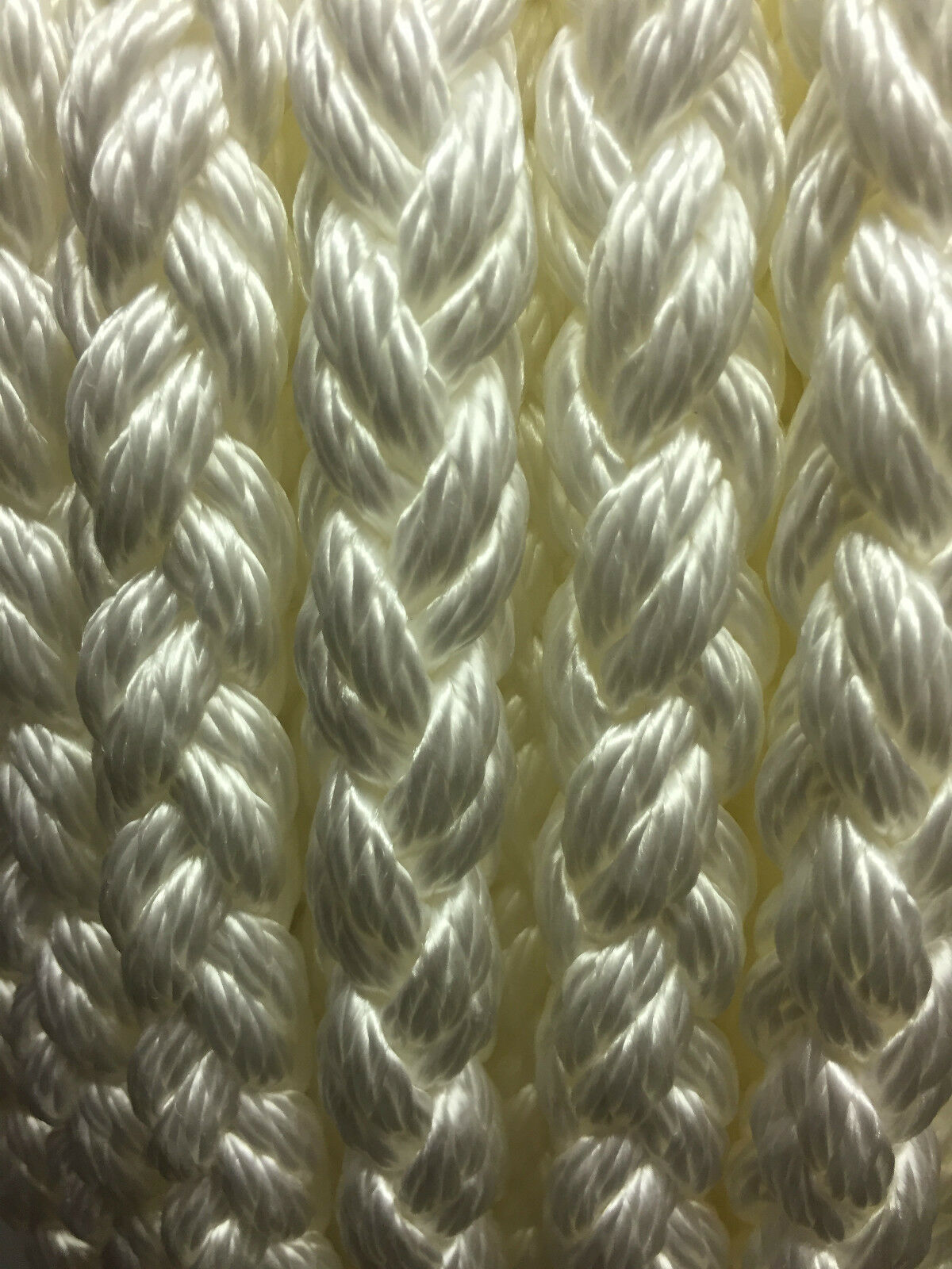 Anchor Mooring rope 8plait multiplait octoplait polyester Marine boat yacht rope
