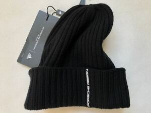 Porsche Design Hat Ribbed Woolie S M Brand New+Tags Beanie Jogging ... 356ad64a4ac
