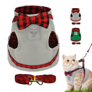 Cat-Walking-Harness-and-Leash-Kitty-Kitten-Clothes-Pet-Puppy-Harness-Vest-Jacket