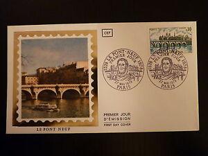 Bien Informé France Premier Jour Fdc Yvert 1997 Le Pont Neuf 0,80f Paris 1978 RafraîChissant Et Enrichissant La Salive