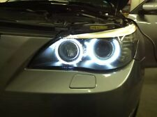 BMW E60 E61 LCI ANGEL EYE UPGRADE HALO RING MARKER  LED 6000K 10W 5 SERIES XENON