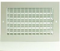 16 X 6 Adjustable Diffuser - Vent Duct Cover - Grille Register - Sidewall Or C on sale