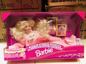 Barbie-Bed-Time-Mattel-New-Perfect-Conditions-Vintage-Years-80