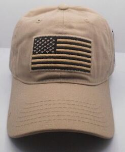 American-Flag-United-States-Cotton-Ball-Cap-Hat-W-Adjustable-Strap-New-H29