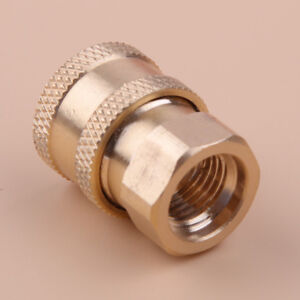 """Pressure Washer 1//4/""""Female NPT Brass Quick Connect Coupler For CleaningMachineWU"""