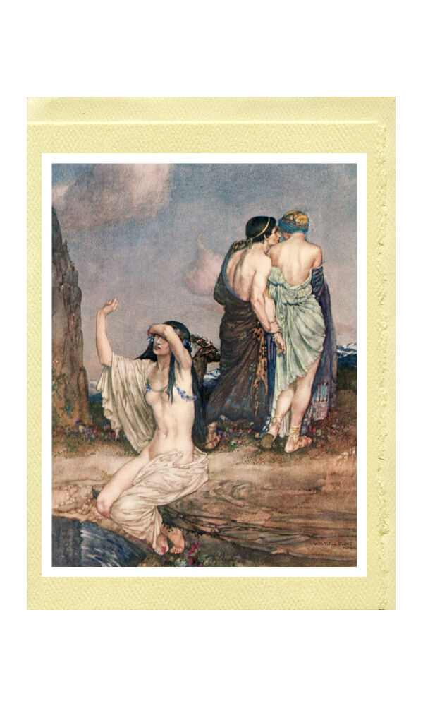 William Russell Flint - Theocritus, Theocritus, Theocritus, Bion and Moschus  20 Deluxe Greeting Cards ee38ff
