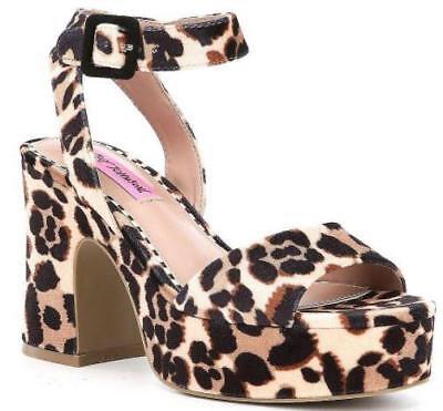 Betsey Johnson CLAUDE Leopard Ankle
