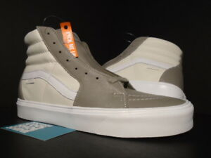 97f51f88acdc VANS SK8-HI LITE LX LEATHER S MOON ROCK GREY MARSHMALLOW WHITE ...