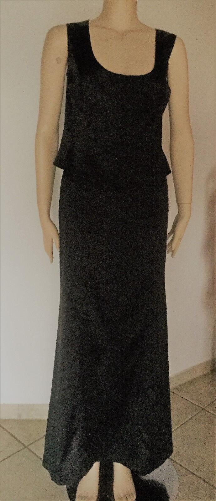 Wunderschönes 2-teiliges Abendkleid in schwarz, Gr. 40 40 40 | Das hochwertigste Material  | Genialität  | Verschiedene Waren  80a67a