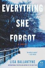 Everything She Forgot by Lisa Ballantyne (2015, Paperback)