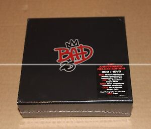 MICHAEL-JACKSON-BAD-25-ANNIVERSARY-3-CDs-1-DVD-BOX-DELUXE-EDITION-NEUVE
