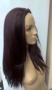 dark-wine-red-straight-3-4-half-head-half-cap-long-hair-wig-fancy-dress-party