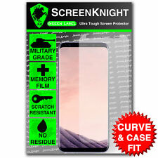 ScreenKnight Samsung Galaxy S8 PLUS S8+ SCREEN PROTECTOR - CURVED & CASE FIT