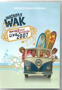 RARE-Wickety-Wak-Live-2007-DVD-signed-by-band-members
